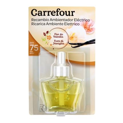 Ambientador eléctrico Flor de Vainilla recambio Carrefour 1 ud.