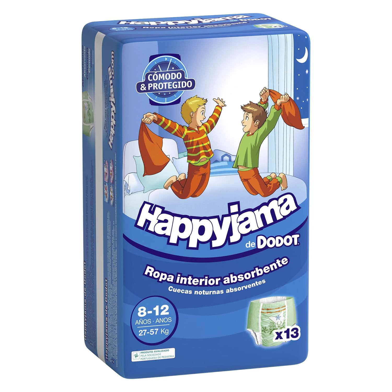 6de2d5218e5e7f Ropa interior absorbente niño noche Dodot Happyjama 8-12 años (27kg ...