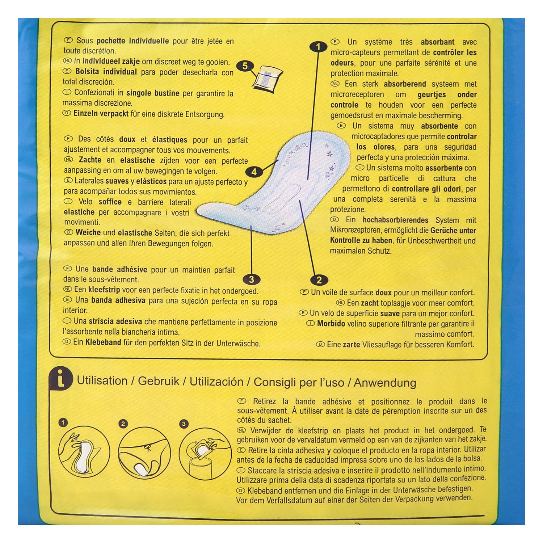 Compresas incontinencia normal Absodys Carrefour 24 ud. - 2
