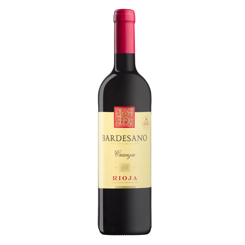 Vino D.O. Rioja tinto crianza Bardesano 75 cl.