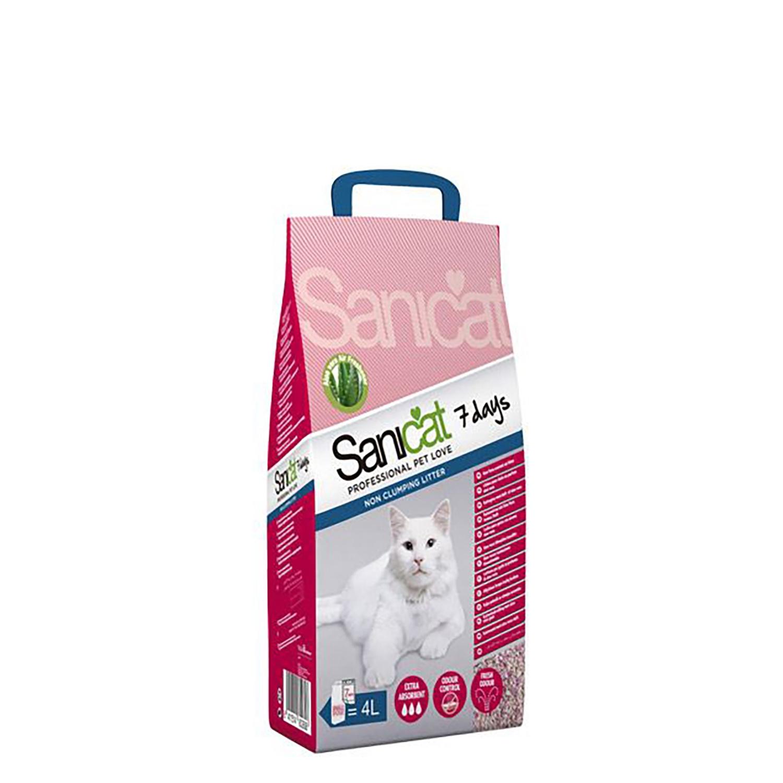 Arena para Gato 7 Days Sanycat - Carrefour supermercado compra online