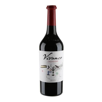 Vino D.O. Rioja tinto crianza Vivanco 75 cl.