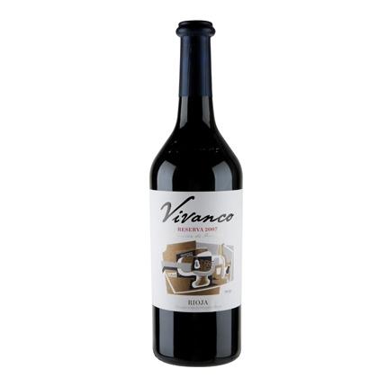 Vino D.O. Rioja tinto reserva Vivanco 75 cl.