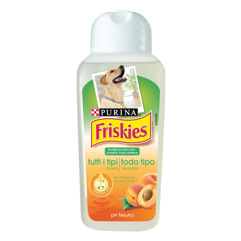 Champú para Perro Purina Friskies Essential Oils Neutral Ph Todo Tipo de Pelo 250 ml