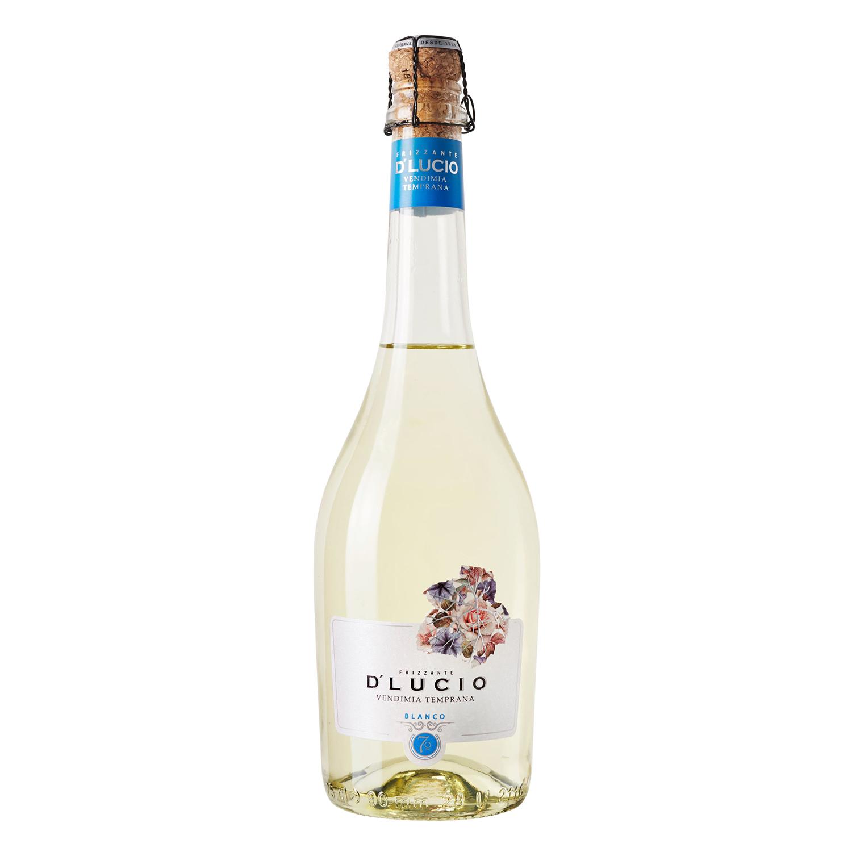 Vino de Aguja blanco gasificado D'Lucio vendimia temprana 75 cl.