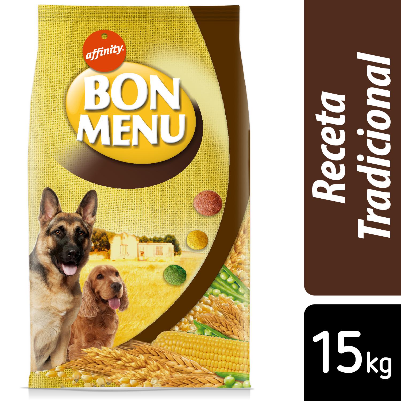 Alimento Seco para Perro Bon Menu Adulto Receta Tradicional 15Kg