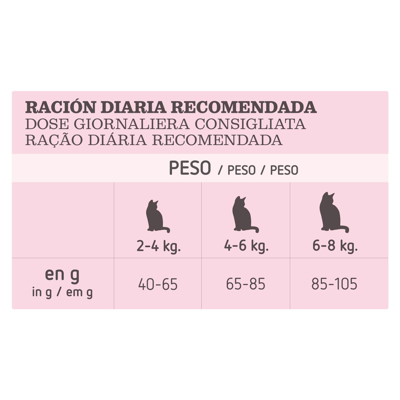 Alimento Gato Seco Adulto Digestión Delicada con Trucha - 4