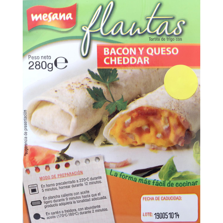 Flautas de bacon y Queso Carrefour 280 g - 3