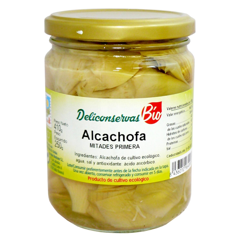 Alcachofas mitades bio