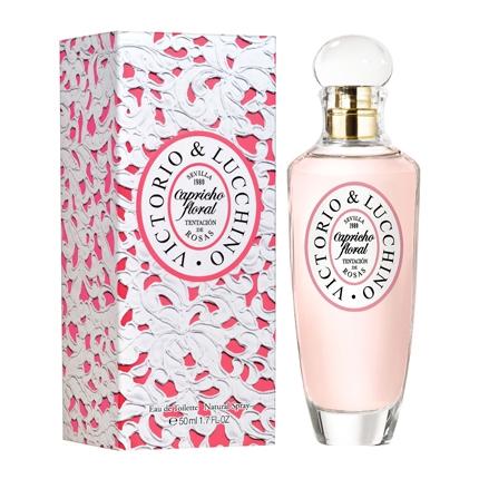 Colonia Capricho Floral - Tentación de rosas spray