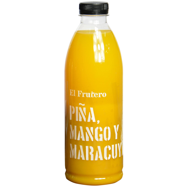 Zumo de piña, mango y maracuyá El Frutero botella 1 l. -