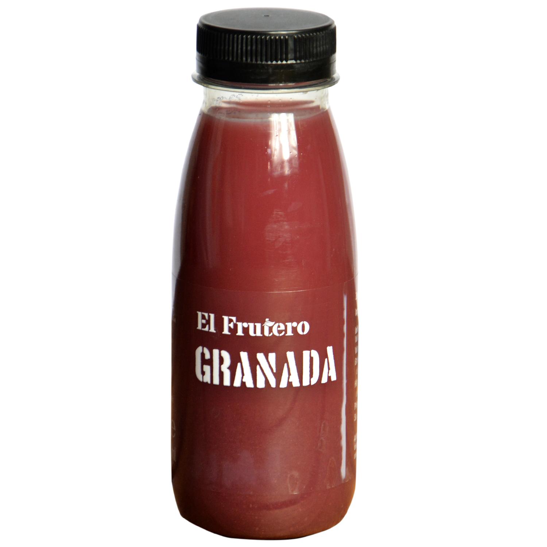 Zumo de granada El Frutero botella 25 cl. -