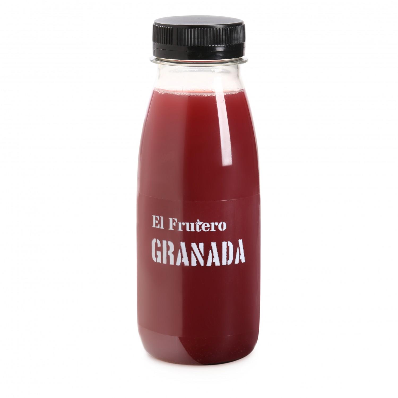 Zumo de granada El Frutero botella 25 cl. - 2