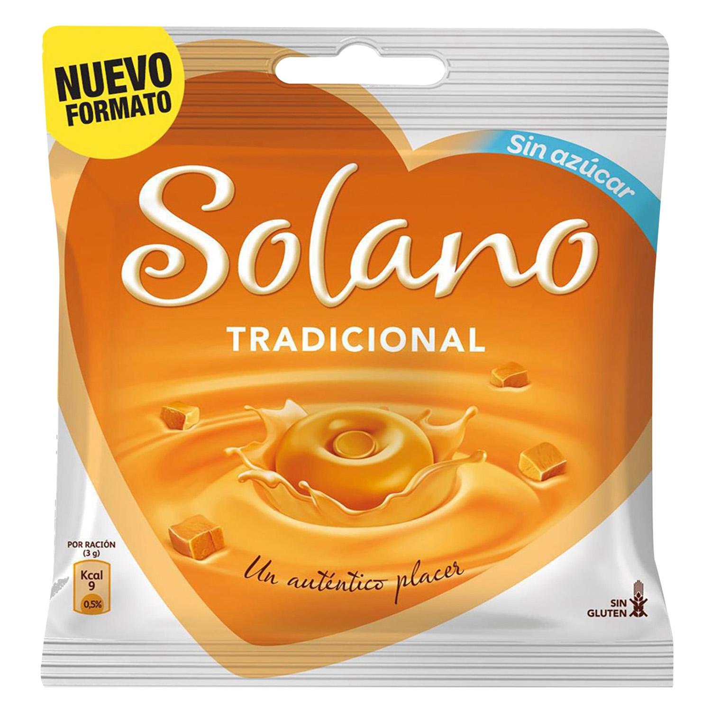 Caramelo tradicional sin azúcar
