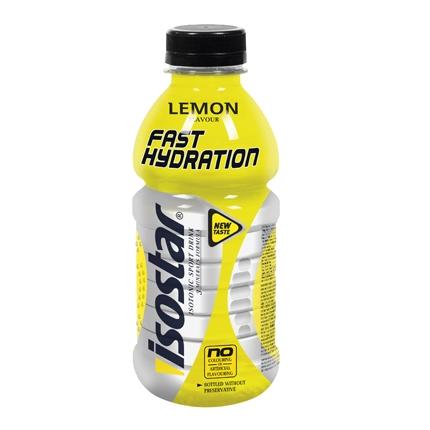 Bebida Isotónica sabor limón Isostar botella 50 cl.