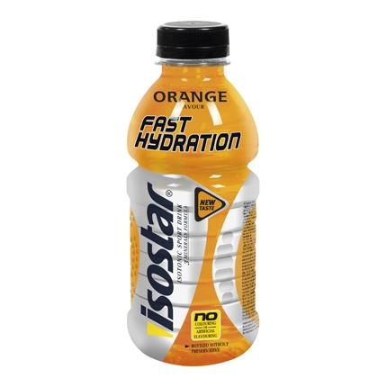 Bebida Isotónica sabor naranja Isostar botella 50 cl.