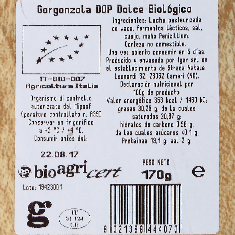 Queso gorgonzola Bio - 2