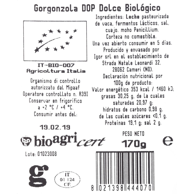 Queso gorgonzola Bio - 3
