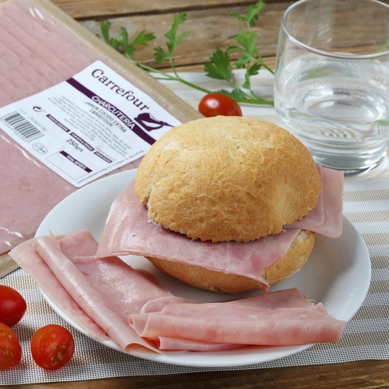 Jamón cocido loncheado Carrefour 250 g