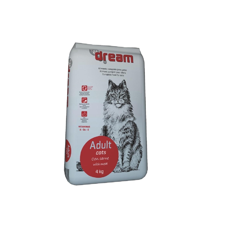 Alimento Seco para Gatos Dream Carne 4 Kg