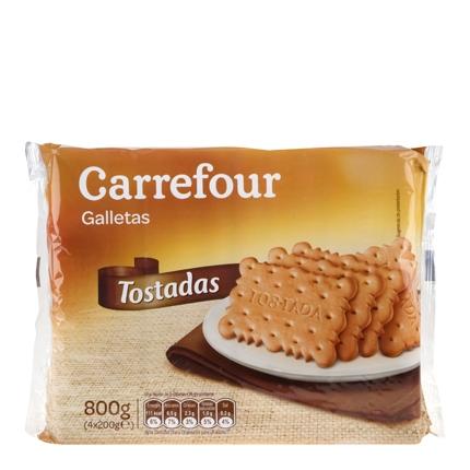 Galletas tostadas Carrefour 800 g.