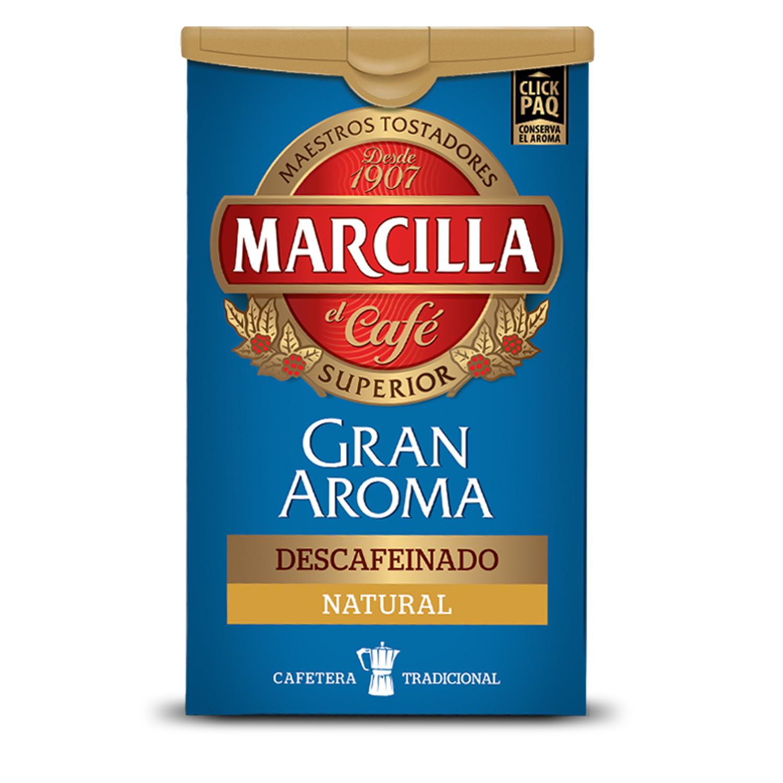 Café molido natural descafeinado Gran Aroma