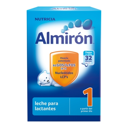 Leche 1 para lactantes en polvo