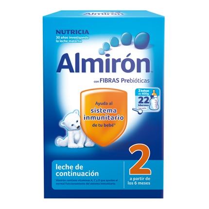 Leche 2 de continuación en polvo Almirón 800 g.