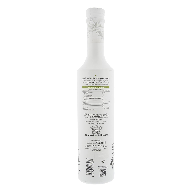 Aceite de oliva virgen extra Dehesa el Molinillo 500 ml. -