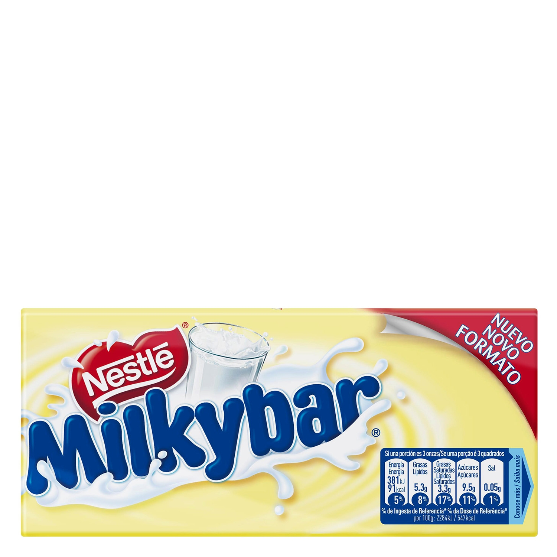 Chocolate blanco Nestlé Milkybar 100 g.