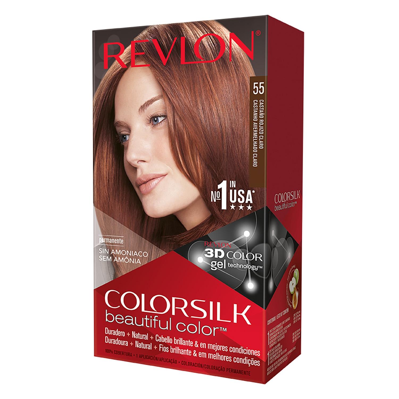 Tinte Colorsilk nº 55 Castaño rojizo claro