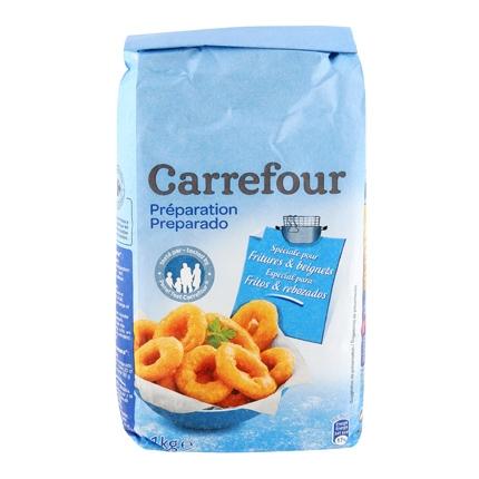 Harina Carrefour para fritos y rebozados 1 kg.