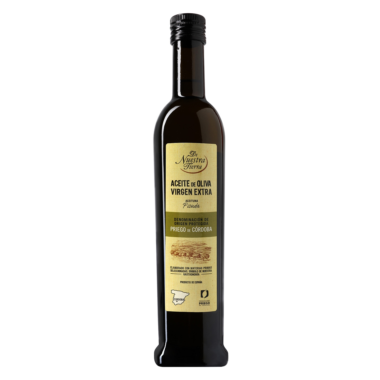 Aceite de oliva virgen extra De Nuestra Tierra D.O Priego de Córdoba