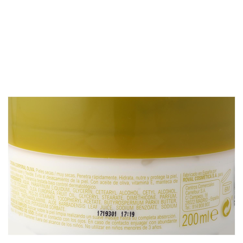 Crema corporal Aceite de Oliva pieles secas - 2