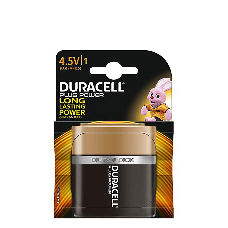 Pila Alcalina Duracell Uso Frecuente 4,5v Plus -