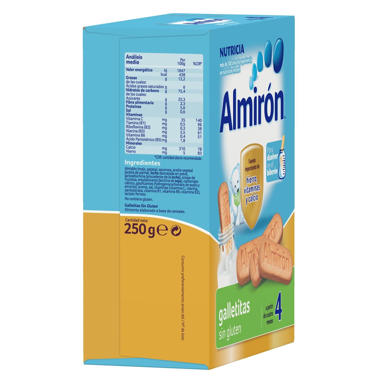 Galletitas Almirón sin gluten 250 g. -