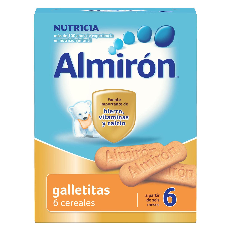 Galletitas de 6 cereales Almirón 180 g.