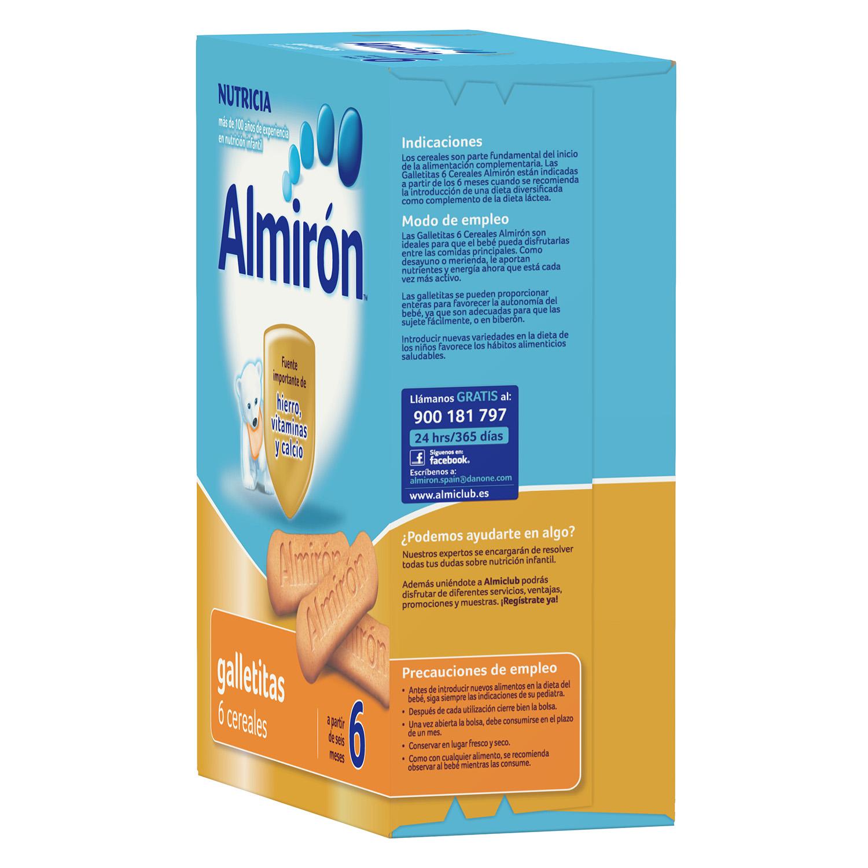 Galletitas de 6 cereales Almirón 180 g. - 2