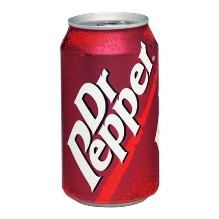 Refresco Dr. Pepper con gas lata 35,5 cl.