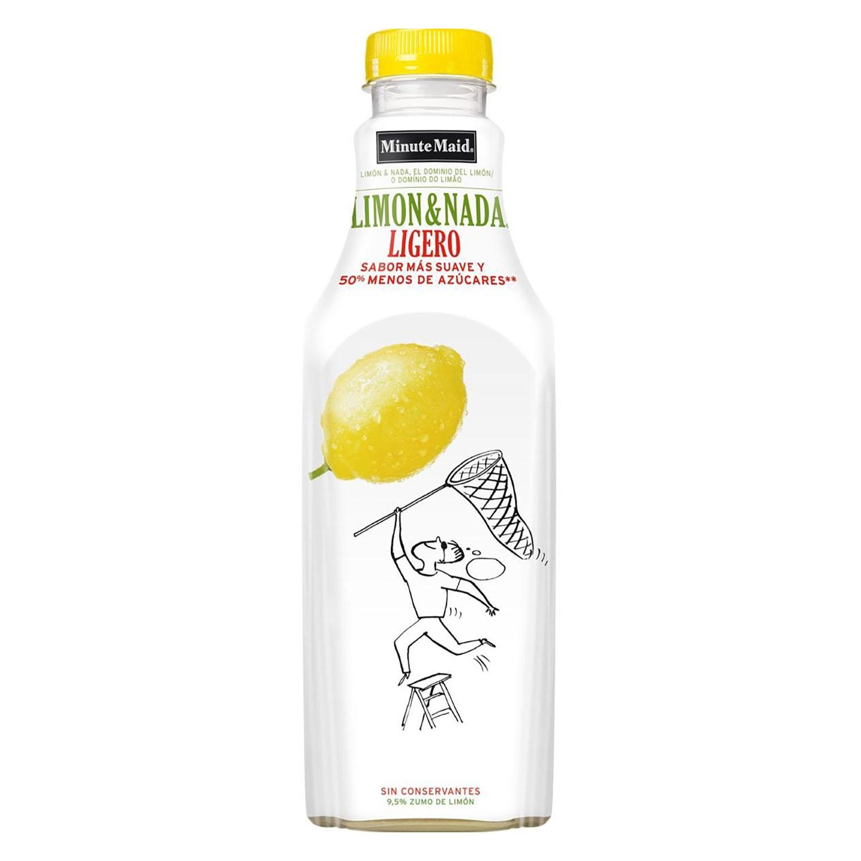 Limonada Minute Maid Ligero sin gas botella 1 l.