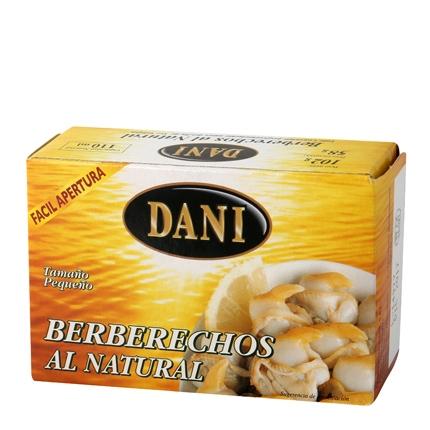 Berberechos pequeños serie oro Dani 60 g.