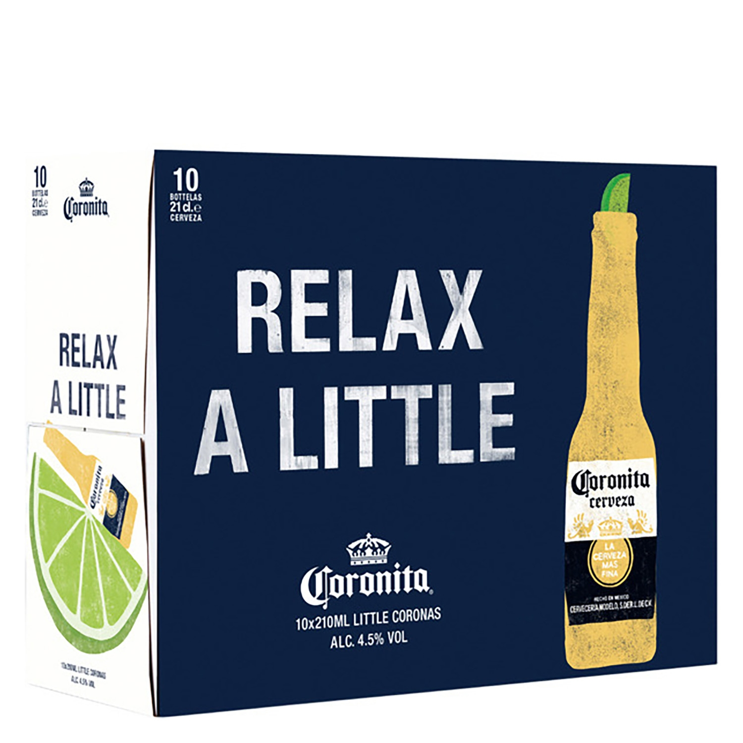 Cerveza Coronita pack de 10 botellas de 21 cl.