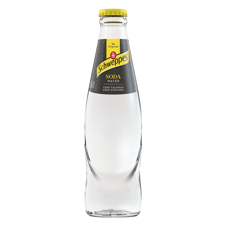 Soda Schweppes botella 25 cl.