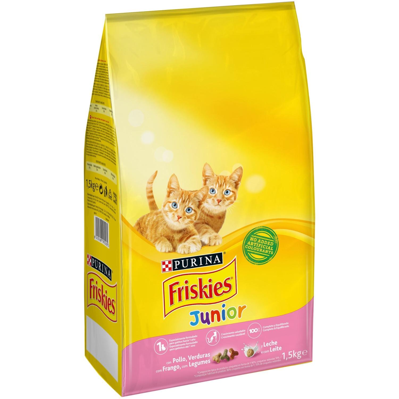 Purina Friskies Pienso para Gato Junior Gato hasta 1 año 1,5Kg