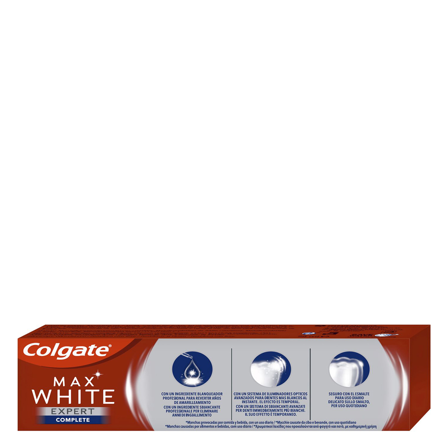 Dentífrico Max White Expert Complete menta suave - 2