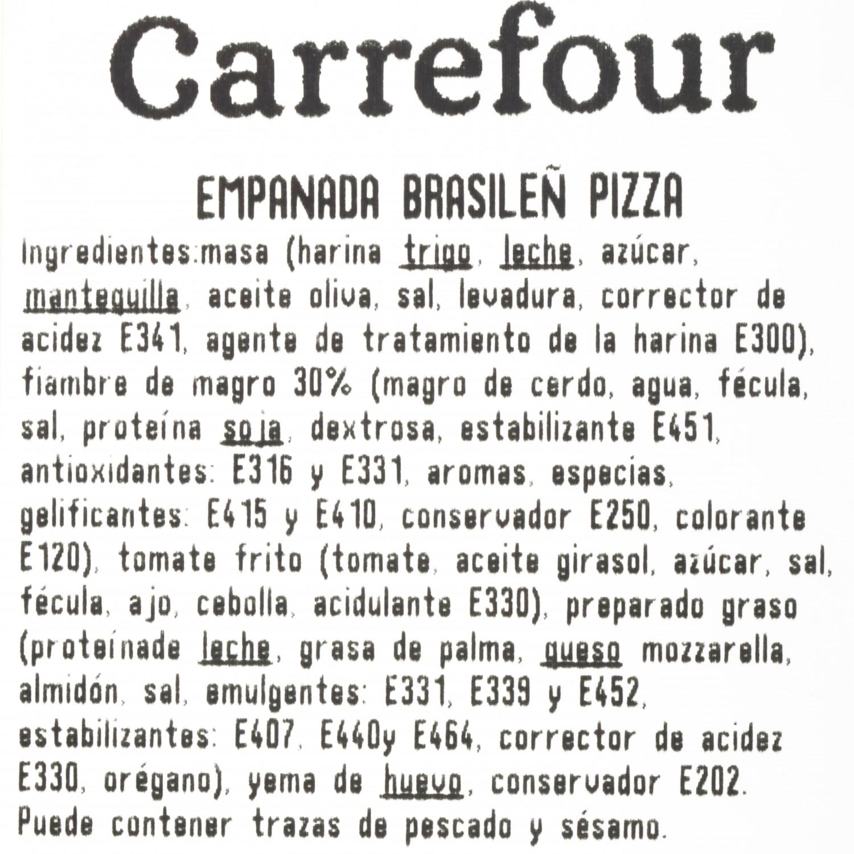 Empanada brasileña pizza La Dulce Tahona 1 ud. - 3