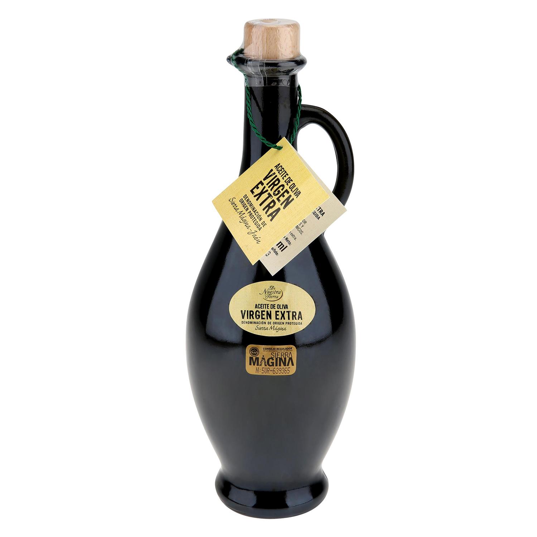 Aceite de oliva virgen extra De Nuestra Tierra D.O Sierra ágina 500 ml.