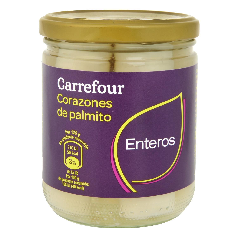 Corazones de palmito Carrefour 250 g.