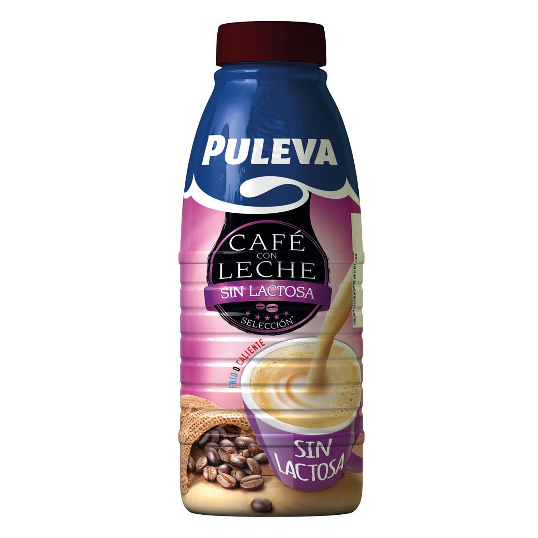 Café con leche Puleva sin lactosa 1 l.