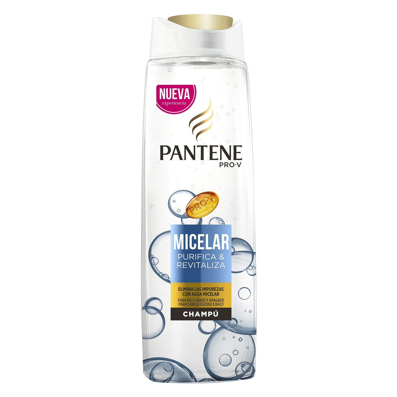 Champú Micelar purifica & revitaliza Pantene 360 ml.